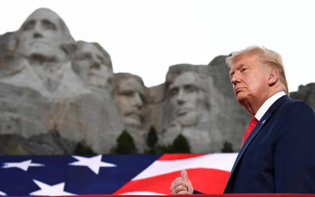 """De 4 iulie: Trump condamnă """"revoluția de stânga"""" din SUA"""