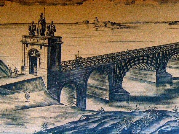 5 iulie: Constantin cel Mare inaugurează podul peste Dunăre