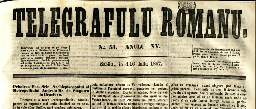 Strămoși ai gazetăriei românești