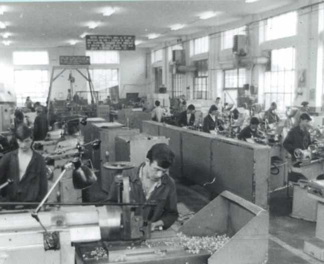 Fabrici romanesti construite dupa Unirea Banatului cu România