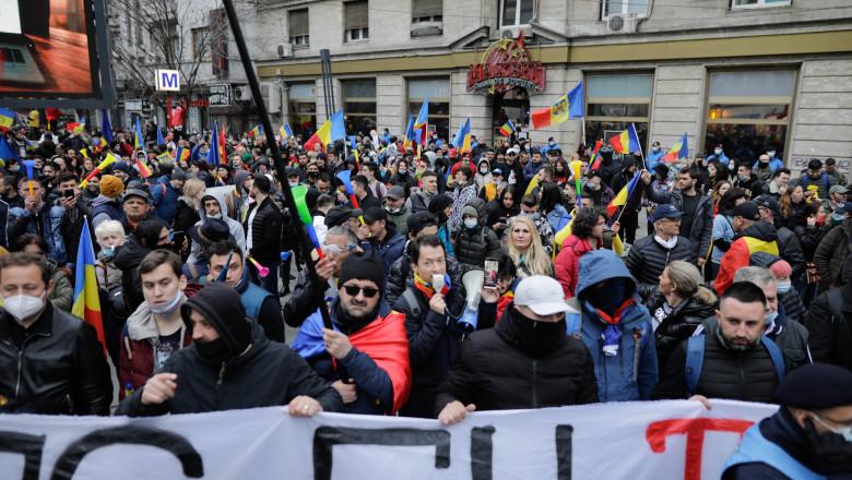 """""""Proclamația pentru Libertate"""": revendicările protestatarilor"""