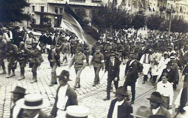 Trupele Române la Timișoara