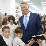 """Poze cu președintele pentru o """"Românie Educată"""""""