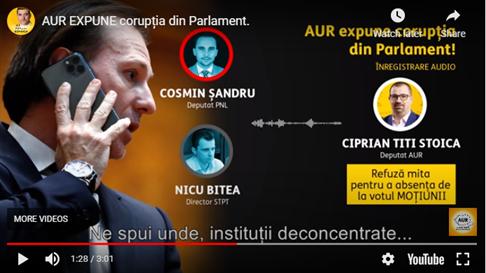 """AUR expune corupția: scandal de mituire cu """"bătaie"""" în Timiș!"""